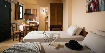 Studio with Garden View